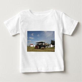 Traktor des Dampf-1800's Baby T-shirt