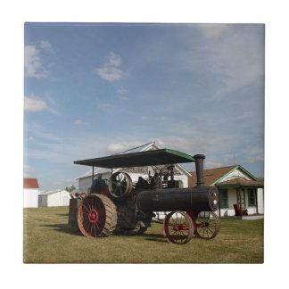Traktor des Dampf-1800's Keramikfliese