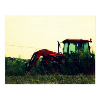 Traktor-Dover-Kirchen-Straße Postkarte