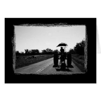 Traktor-Erinnerungens-Anmerkungs-Karte Karte