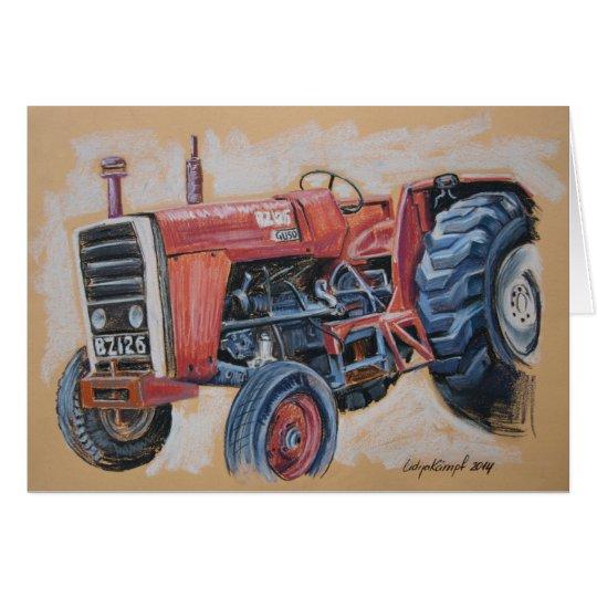 Traktor Ferguson BZ126 Karte