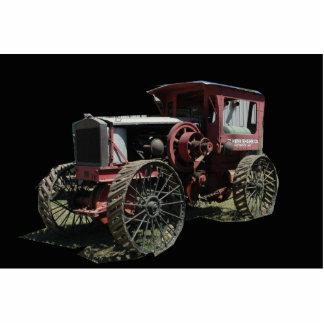 Traktor Freistehende Fotoskulptur