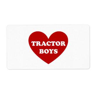 Traktor-Jungen