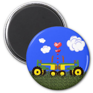 Traktor-Küssen Kühlschrankmagnete