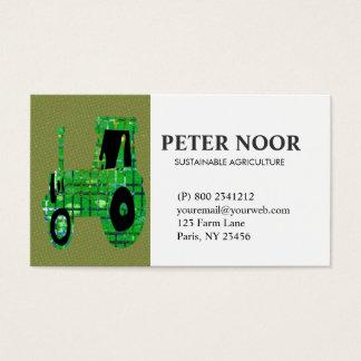 Traktor-Landwirtschaft Visitenkarte