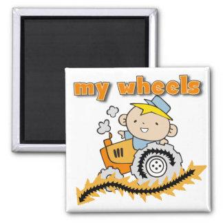 Traktor meine Rad-T-Shirts und Geschenke Kühlschrankmagnet