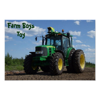 Traktor-Plakat