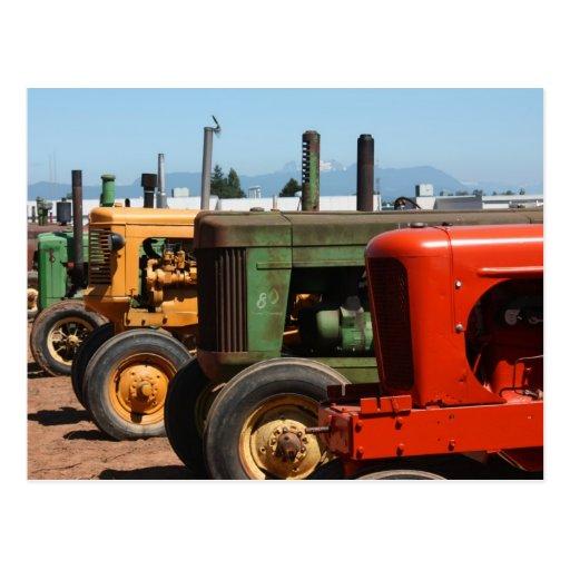 Traktor-Reihe Postkarten