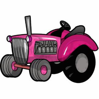 Traktor - Rosa Foto Ausschnitt