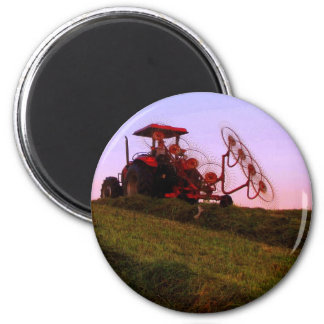 Traktor Runder Magnet 5,1 Cm