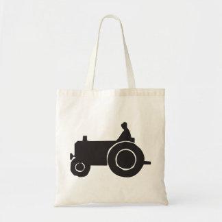 Traktor-Silhouette-Taschen-Tasche Tragetasche