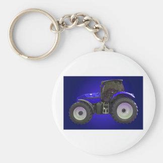 Traktor Standard Runder Schlüsselanhänger