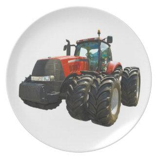 Traktor Flacher Teller