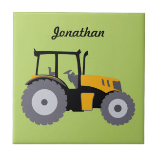 Traktorillustrations-Kipper des Kinderzimmers Keramikfliese