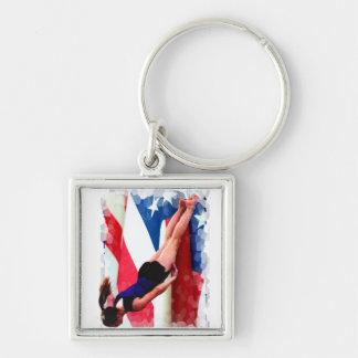 TrampolineGymnast Schlüsselanhänger