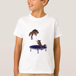 trampolining Füchse T-Shirt