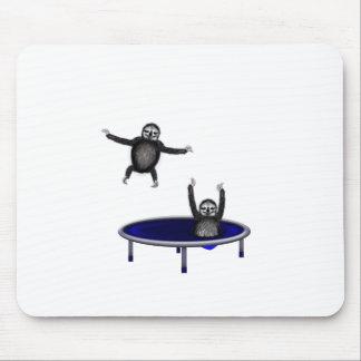 trampolining Trägheiten Mousepad