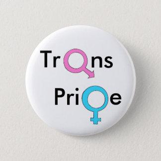 Trangender/Transexual-Stolz Runder Button 5,1 Cm