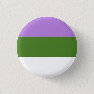 Trangender und Genderqueer Stolz-Knöpfe Runder Button 3,2 Cm