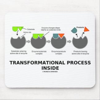 Transformationsprozess-Innere (Enzym-Substrat) Mauspad