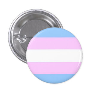 Transgender-Flaggen-Knopf Runder Button 2,5 Cm