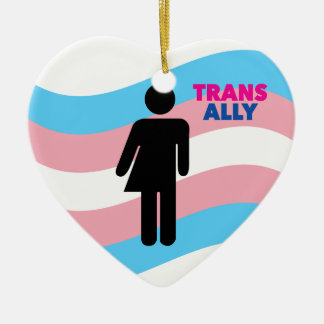 Transgender Keramik Ornament