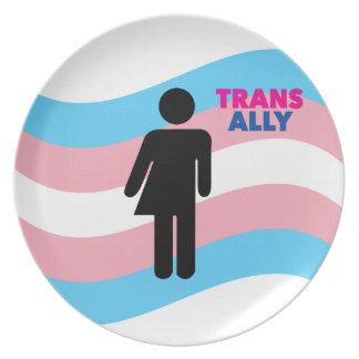 Transgender Melaminteller