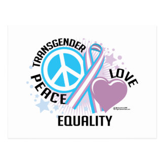 Transgender PLC Postkarte