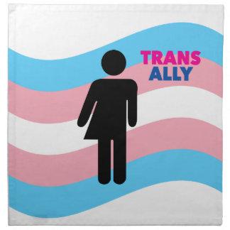 Transgender Stoffserviette