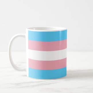 Transgender-Stolz-Flagge Kaffeetasse