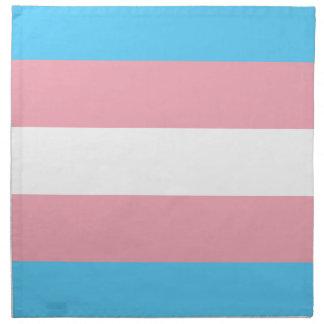 Transgender-Stolz-Flagge - LGBT Serviette