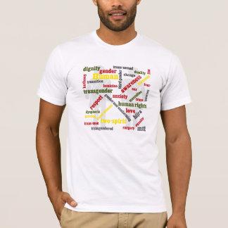 Transgenderwort-Grafik-Shirt T-Shirt