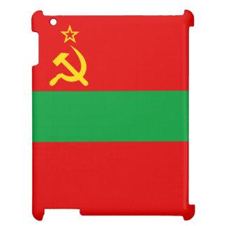Transnistrien-Flagge iPad Hülle