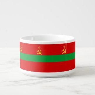 Transnistrien-Flagge Schüssel