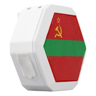 Transnistrien-Flagge Weiße Bluetooth Lautsprecher