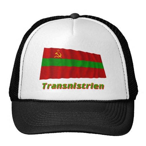 Transnistrien Fliegende Flagge MIT Namen