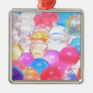 transparente Bälle Silbernes Ornament