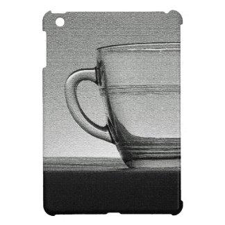 Transparente Glasschale backlit iPad Mini Hülle