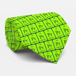 Transparente Grafiken Element59 der Bedruckte Krawatte
