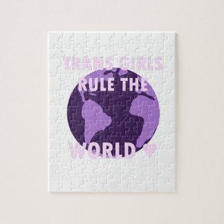 Transport-Mädchen ordnen die Welt an (v1) Puzzle