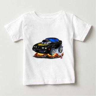 Transport morgens Schwarz-Goldauto 1979-81 Baby T-shirt