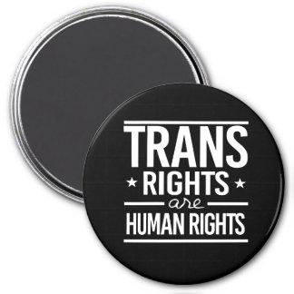 Transport-Rechte sind Menschenrechte -- - - Runder Magnet 7,6 Cm