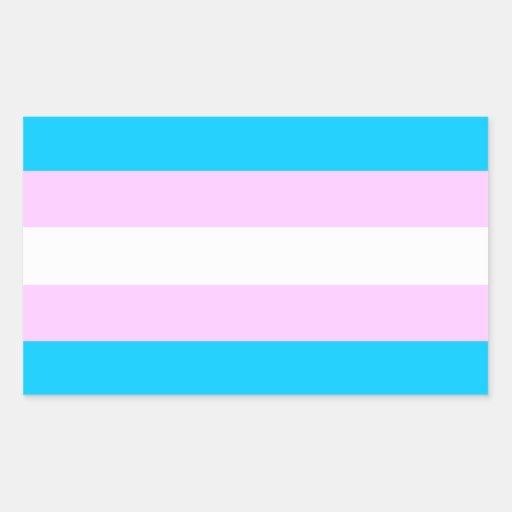 Transport-Stolzflaggenaufkleber Rechrteckaufkleber