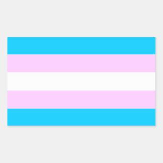 Transport-Stolzflaggenaufkleber Rechteckiger Aufkleber