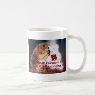 TrapezfehlerPräriehund-Valentinstag Kaffeetasse