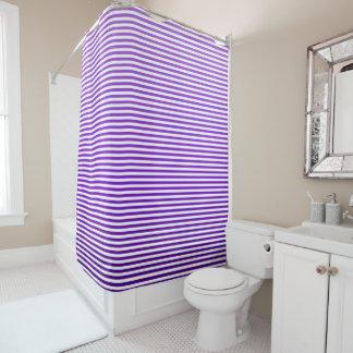Traube Ombre Streifen Duschvorhang