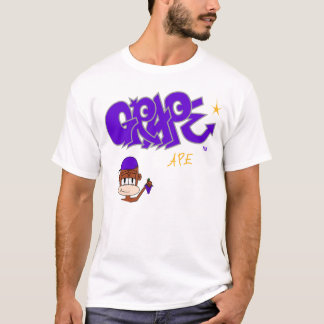 Trauben-Affen-Logo-T-Stück T-Shirt