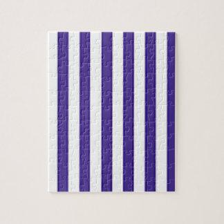 Trauben-blaue Streifen Puzzle