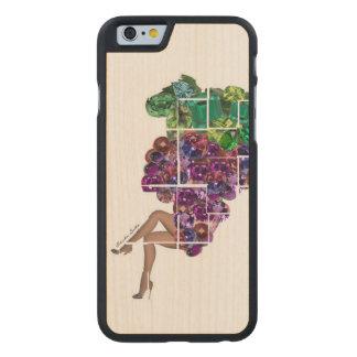 Trauben-Edelsteine Carved® iPhone 6 Hülle Ahorn