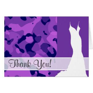 Trauben-lila Camouflage; Tarnung Karte
